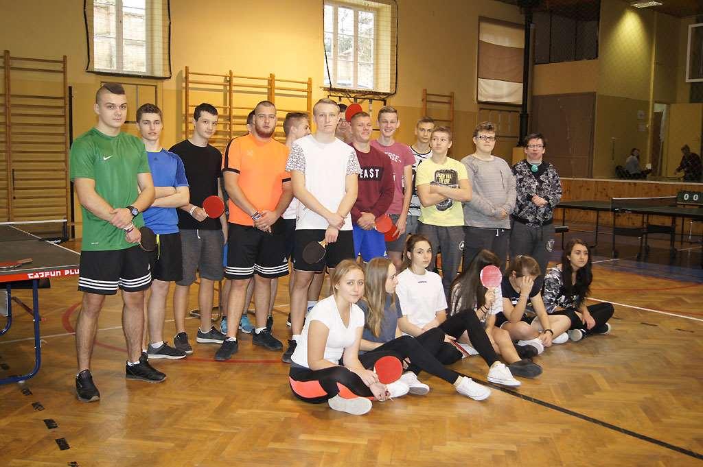 Szkolny Turniej Tenisa Stołowego 20.10.2017r.