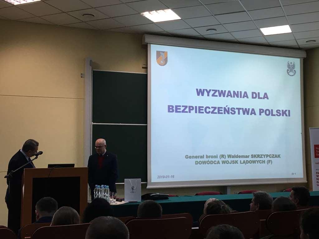wyzwania dla bezpieczeństwa Polski – wykład