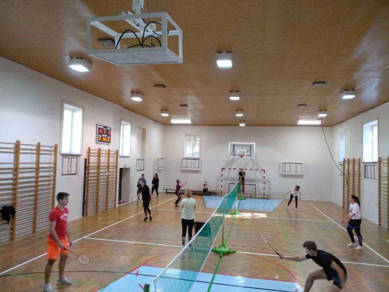 Szkolny Turniej Badmintona
