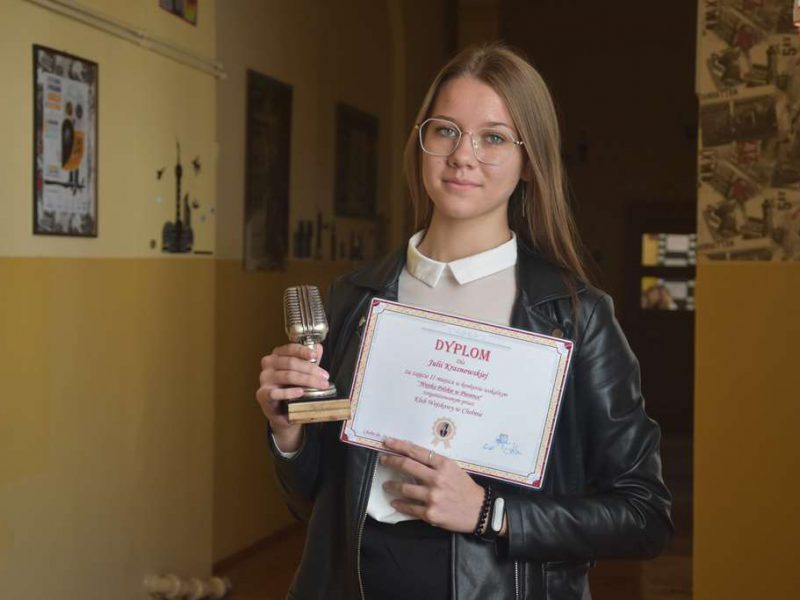 Julia Krasnowska z sukcesem