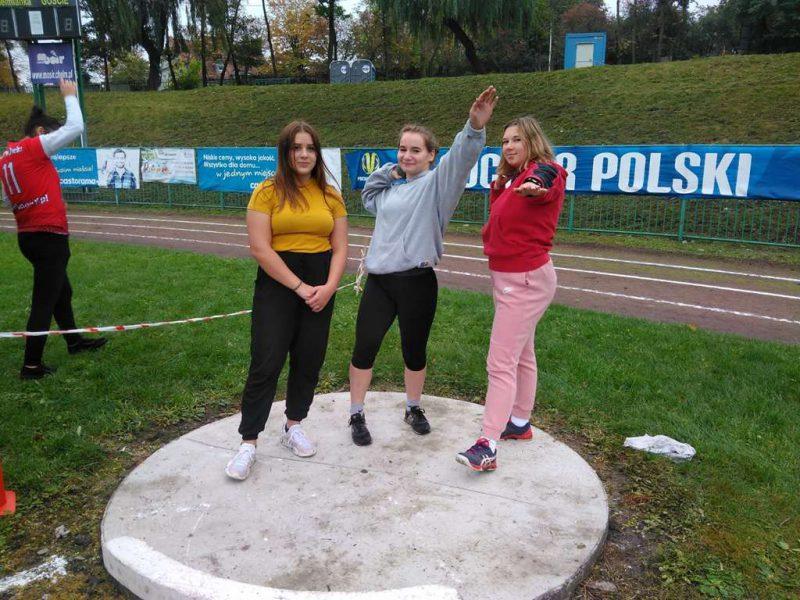 Lekkoatleci z medalami