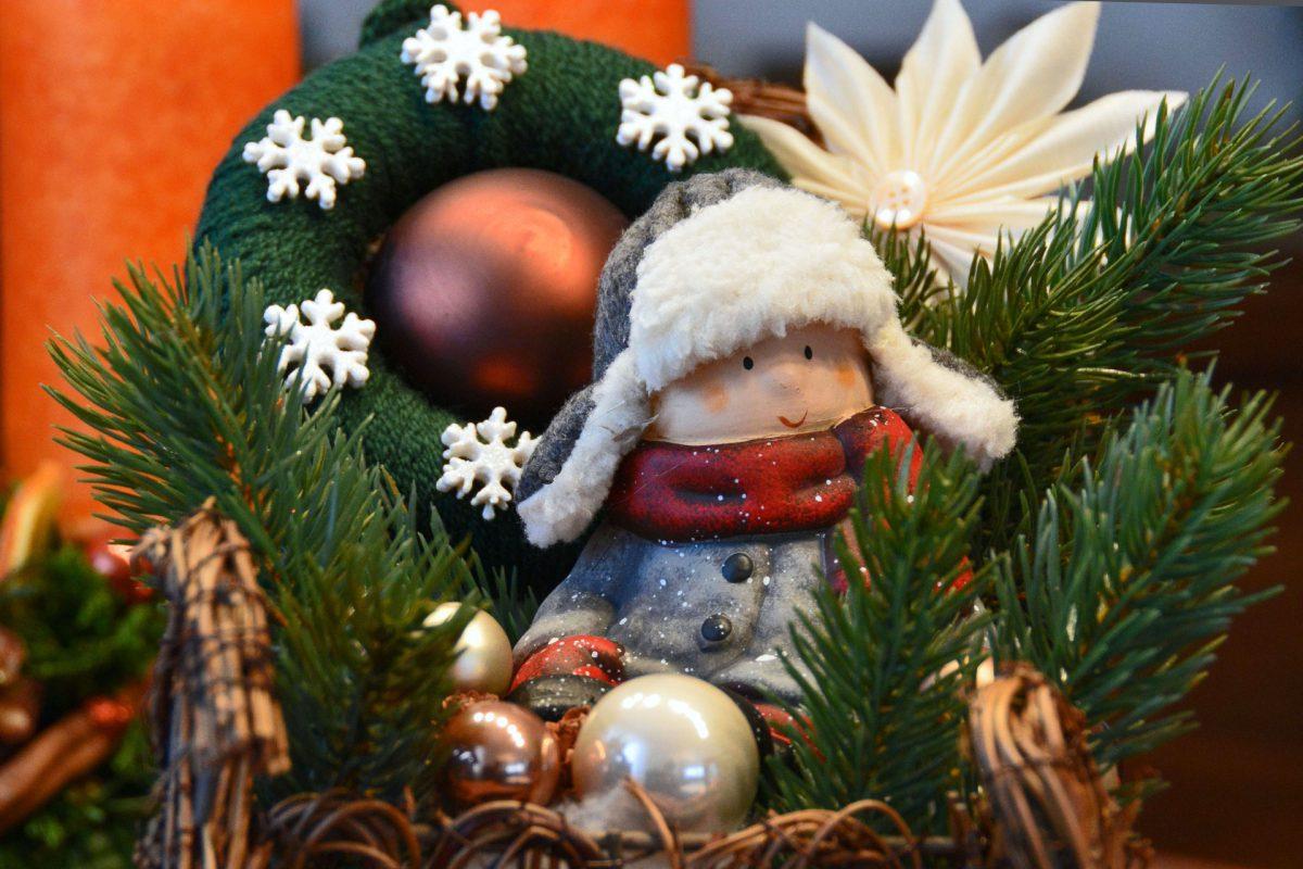 Oliwia Ziomek twórczynią najpiękniejszego stroiku bożonarodzeniowego